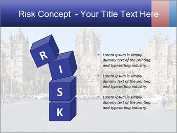 Victoria Terminus in Mumbai PowerPoint Templates - Slide 81
