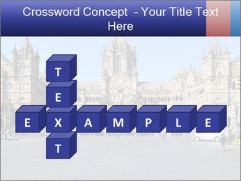 Victoria Terminus in Mumbai PowerPoint Templates - Slide 82