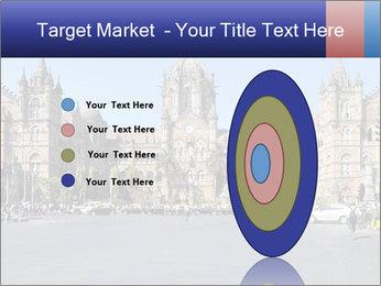 Victoria Terminus in Mumbai PowerPoint Templates - Slide 84