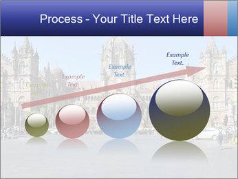 Victoria Terminus in Mumbai PowerPoint Templates - Slide 87