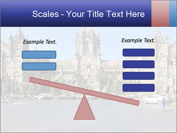 Victoria Terminus in Mumbai PowerPoint Templates - Slide 89