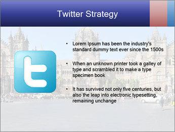 Victoria Terminus in Mumbai PowerPoint Templates - Slide 9