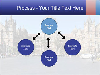 Victoria Terminus in Mumbai PowerPoint Templates - Slide 91