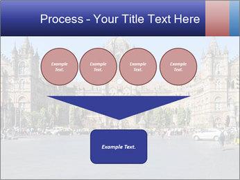 Victoria Terminus in Mumbai PowerPoint Templates - Slide 93