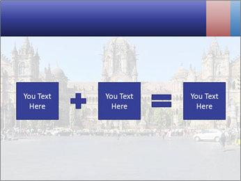 Victoria Terminus in Mumbai PowerPoint Templates - Slide 95