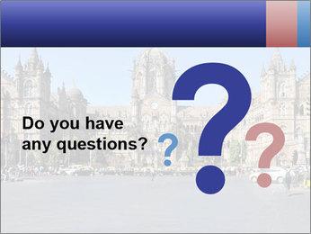 Victoria Terminus in Mumbai PowerPoint Templates - Slide 96