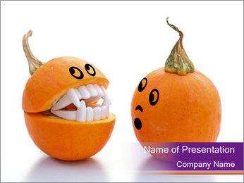Pumpkins PowerPoint Templates - Slide 1