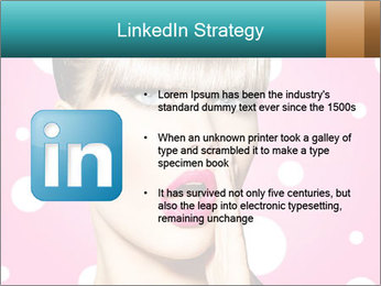 Surprised Woman PowerPoint Templates - Slide 12