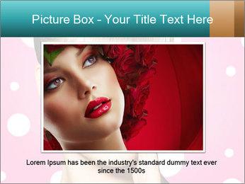 Surprised Woman PowerPoint Templates - Slide 15
