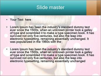 Surprised Woman PowerPoint Templates - Slide 2