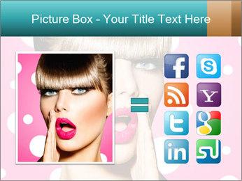 Surprised Woman PowerPoint Templates - Slide 21