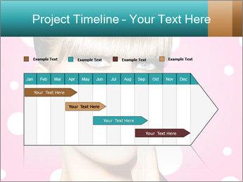 Surprised Woman PowerPoint Templates - Slide 25