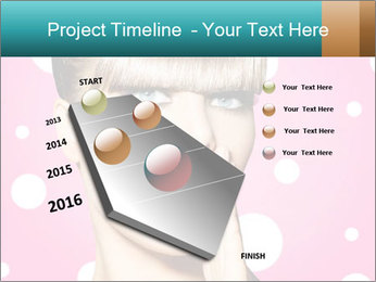 Surprised Woman PowerPoint Templates - Slide 26