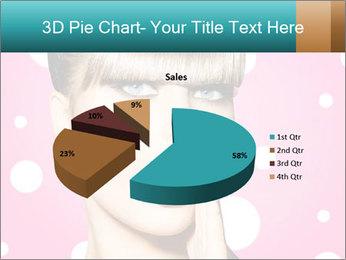 Surprised Woman PowerPoint Templates - Slide 35