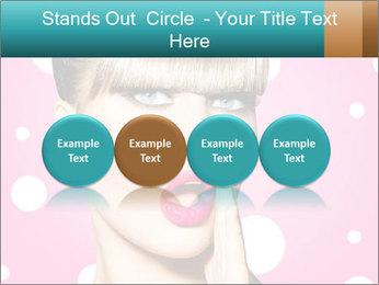 Surprised Woman PowerPoint Templates - Slide 76