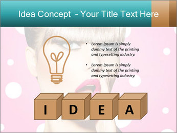 Surprised Woman PowerPoint Templates - Slide 80