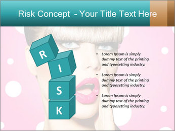 Surprised Woman PowerPoint Templates - Slide 81