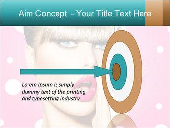 Surprised Woman PowerPoint Templates - Slide 83