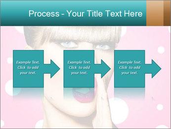 Surprised Woman PowerPoint Templates - Slide 88