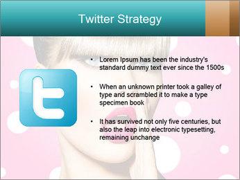 Surprised Woman PowerPoint Templates - Slide 9