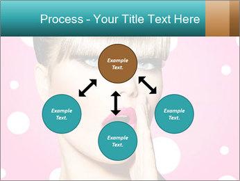 Surprised Woman PowerPoint Templates - Slide 91