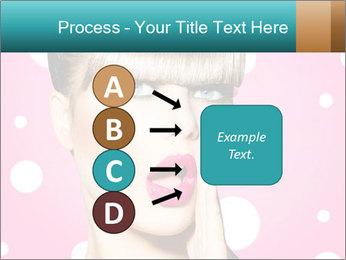 Surprised Woman PowerPoint Templates - Slide 94