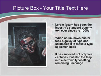 Scary zombie PowerPoint Templates - Slide 13