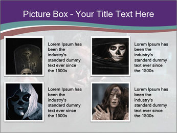 Scary zombie PowerPoint Templates - Slide 14
