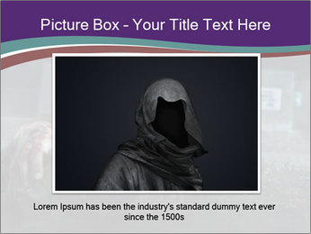 Scary zombie PowerPoint Templates - Slide 16
