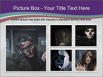 Scary zombie PowerPoint Templates - Slide 19