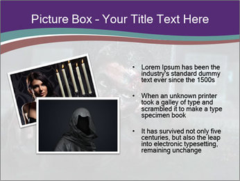 Scary zombie PowerPoint Templates - Slide 20
