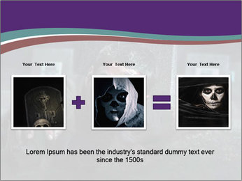 Scary zombie PowerPoint Templates - Slide 22