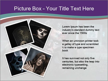 Scary zombie PowerPoint Templates - Slide 23