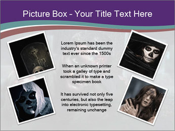 Scary zombie PowerPoint Templates - Slide 24
