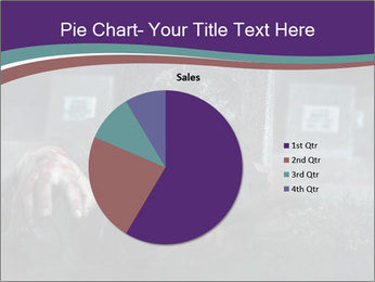 Scary zombie PowerPoint Templates - Slide 36
