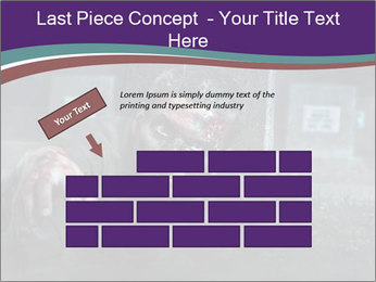 Scary zombie PowerPoint Templates - Slide 46