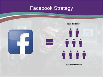 Scary zombie PowerPoint Templates - Slide 7