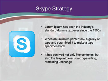 Scary zombie PowerPoint Templates - Slide 8