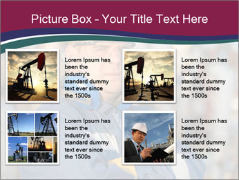 Oil workers PowerPoint Templates - Slide 14
