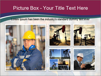Oil workers PowerPoint Templates - Slide 19