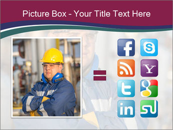 Oil workers PowerPoint Templates - Slide 21