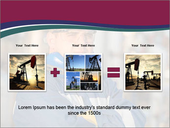 Oil workers PowerPoint Templates - Slide 22