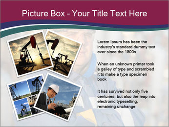 Oil workers PowerPoint Templates - Slide 23