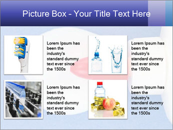 Blue craft paper PowerPoint Templates - Slide 14