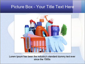 Blue craft paper PowerPoint Templates - Slide 15
