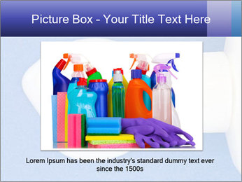 Blue craft paper PowerPoint Templates - Slide 16