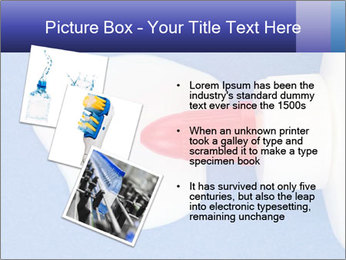 Blue craft paper PowerPoint Templates - Slide 17