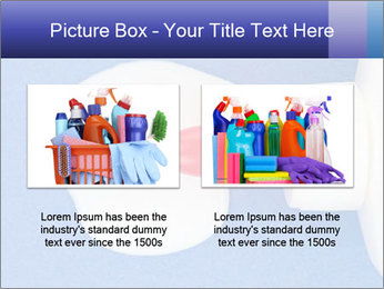 Blue craft paper PowerPoint Templates - Slide 18