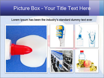 Blue craft paper PowerPoint Templates - Slide 19