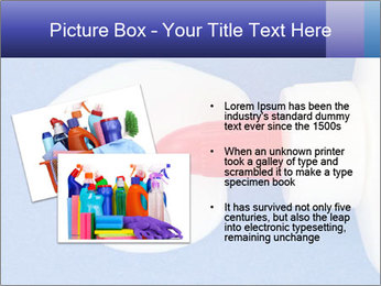 Blue craft paper PowerPoint Templates - Slide 20